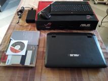 ASUS ROG G55VW, i7, GTX660, 8GB DDR3, SSD 128 + HD 720