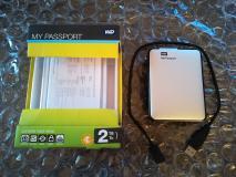 HD WD 2TB USB3.0